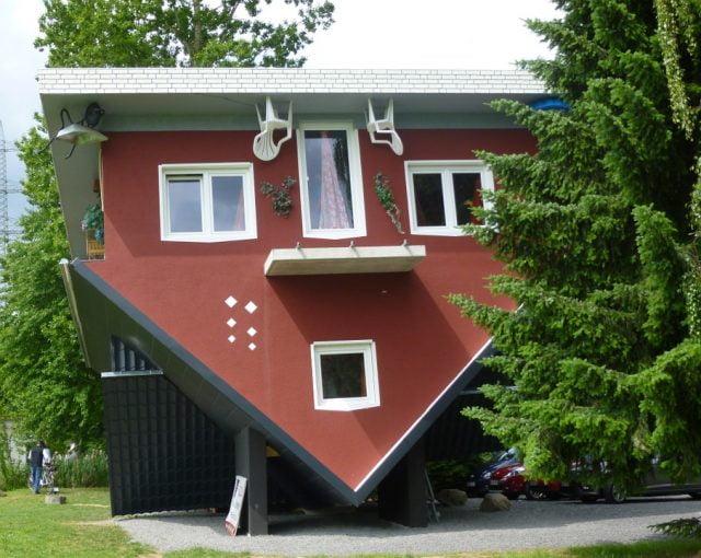 Прикольные картинки смешных домов (18)