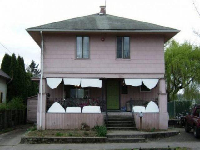 Прикольные картинки смешных домов (9)