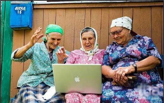 Прикольные картинки смешных старушек (1)