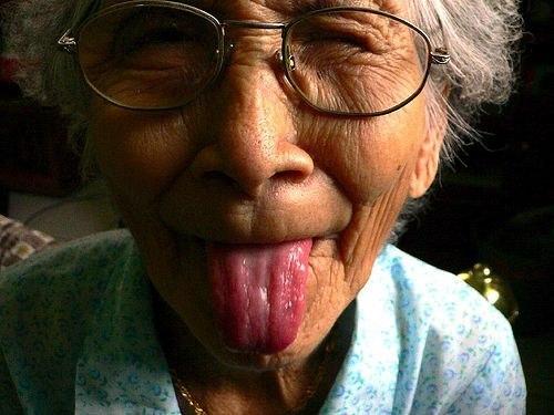 Прикольные картинки смешных старушек (3)