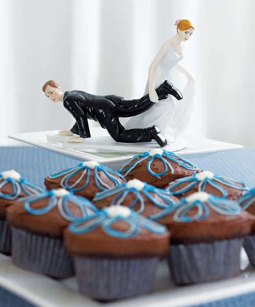 Прикольные картинки торты на свадьбу - идеи с фото (11)