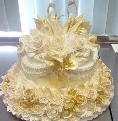 Прикольные картинки торты на свадьбу - идеи с фото (14)