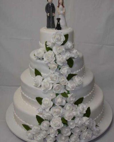 Прикольные картинки торты на свадьбу - идеи с фото (15)