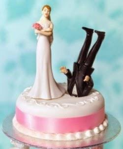Прикольные картинки торты на свадьбу - идеи с фото (17)