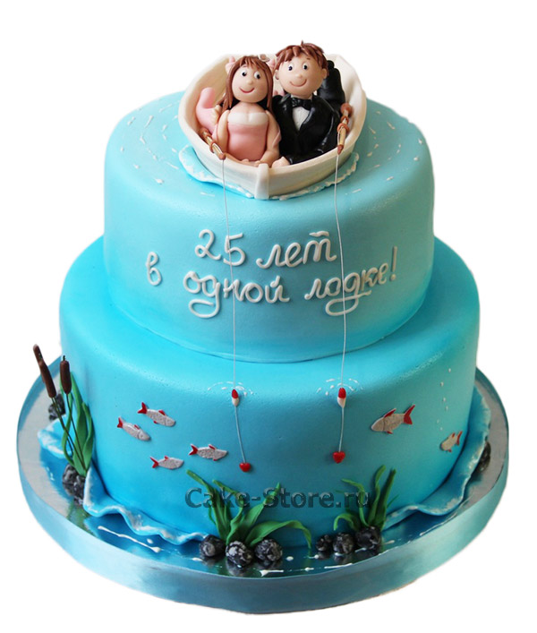 Прикольные картинки торты на свадьбу - идеи с фото (21)
