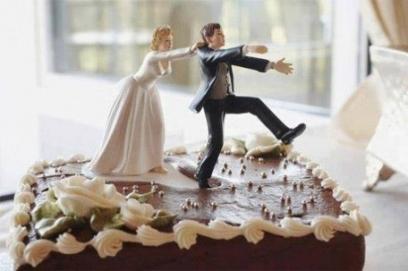 Прикольные картинки торты на свадьбу - идеи с фото (22)