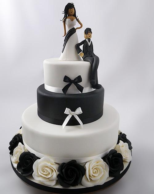 Прикольные картинки торты на свадьбу - идеи с фото (24)