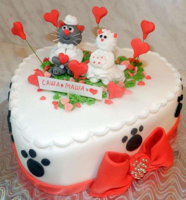 Прикольные картинки торты на свадьбу - идеи с фото (25)