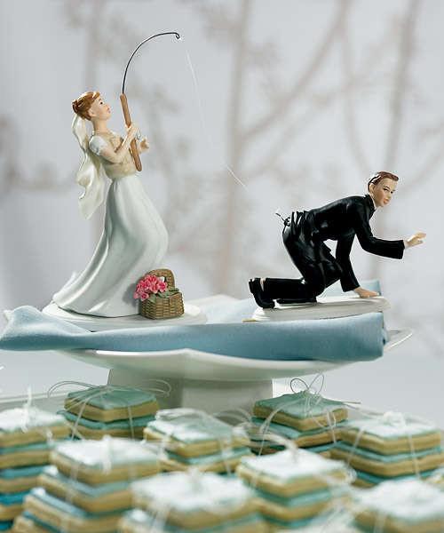 Прикольные картинки торты на свадьбу - идеи с фото (6)