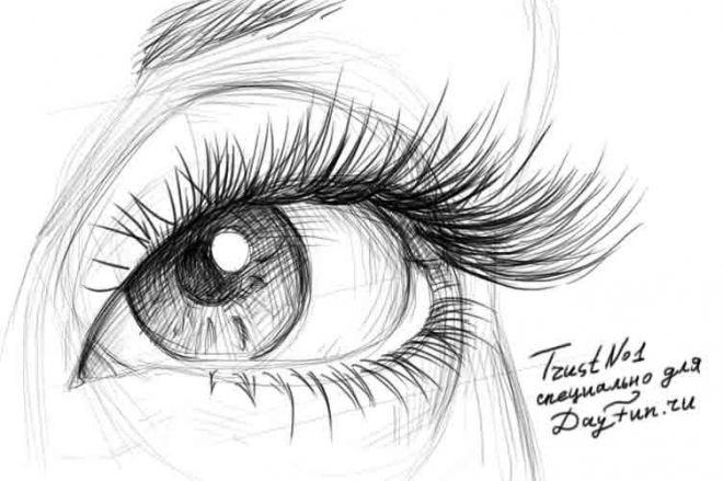 Прикольные рисунки Карандашом для срисовки - 58 картинок (7)