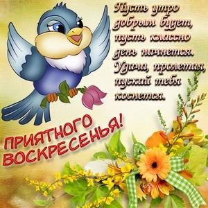 Приятного воскресенья картинки и открытки016