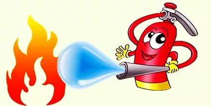 Противопожарная безопасность картинки детские - подборка (11)