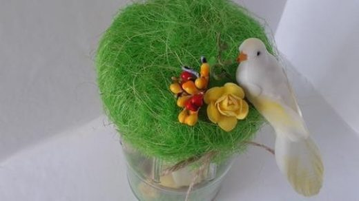 Птички в банке своими руками014