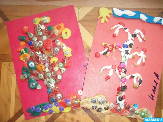 Растяжка золотая осень для детского сада006