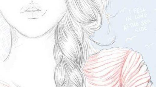 Рисовать карандашом красивые рисунки для девочек 11 лет006