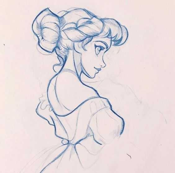 Рисовать карандашом красивые рисунки для девочек 11 лет017