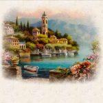 Рисунки город у моря — 20 изображений
