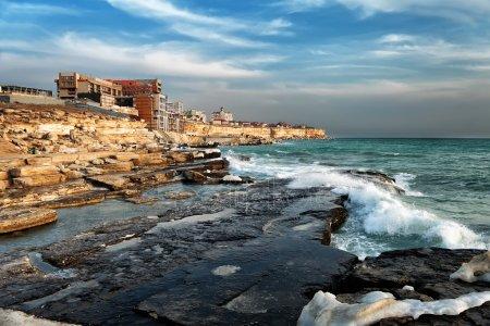 Рисунки город у моря - 20 изображений (3)