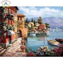 Рисунки город у моря - 20 изображений (5)