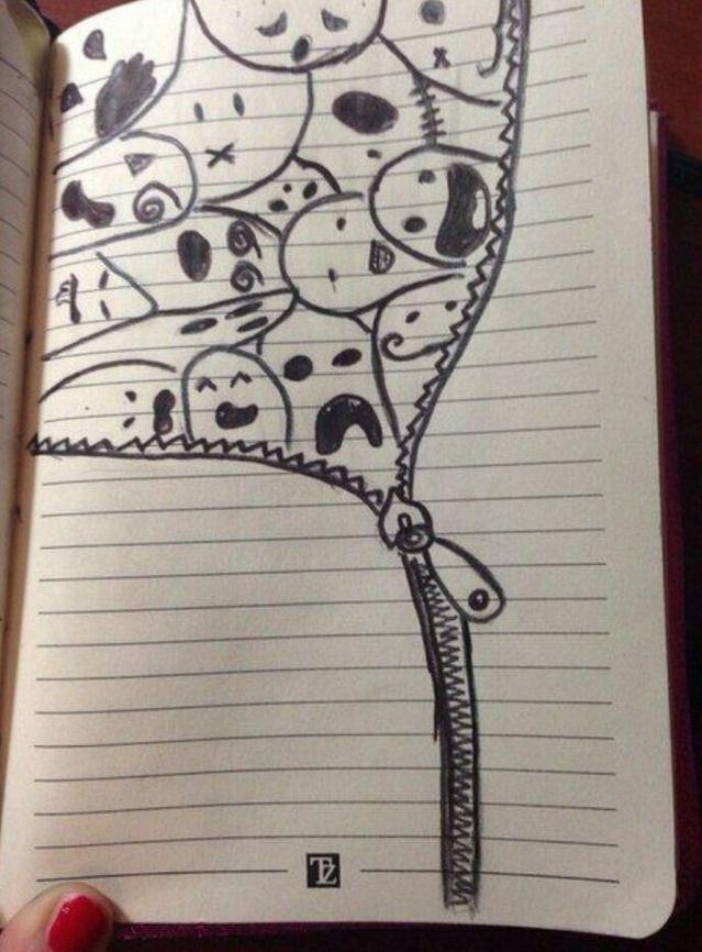 Рисунки для девочек 15 лет для личного дневника002