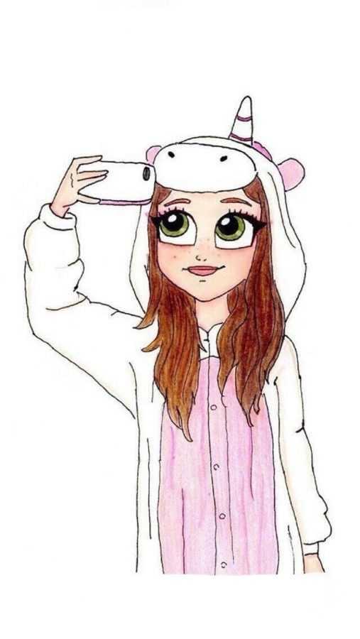 Рисунки для девочек 15 лет для личного дневника011