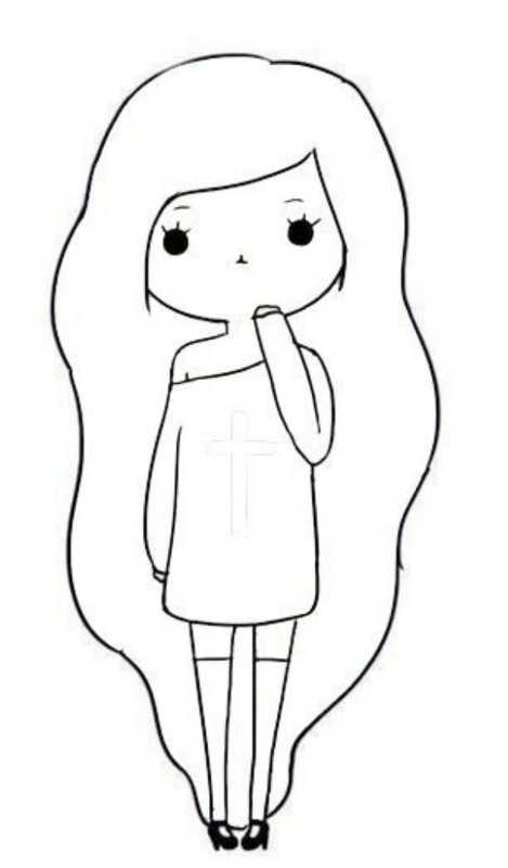 Рисунки карандашом для начинающих для девочек 11 лет001