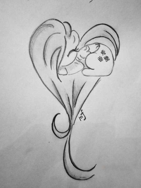 Рисунки карандашом для начинающих для девочек 11 лет003