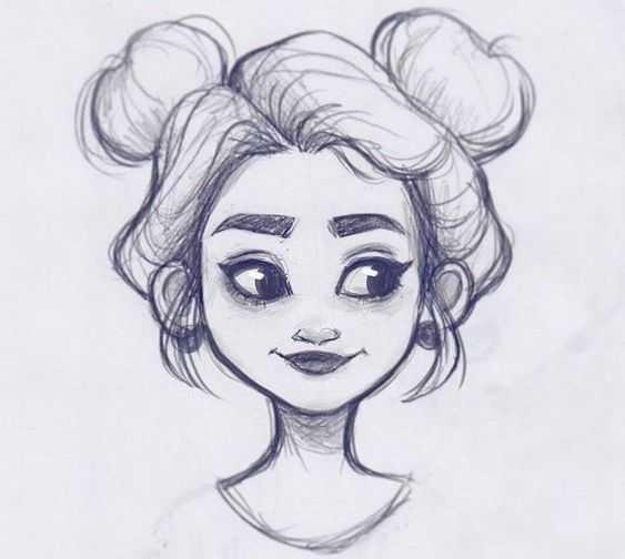 Рисунки карандашом для начинающих для девочек 11 лет020