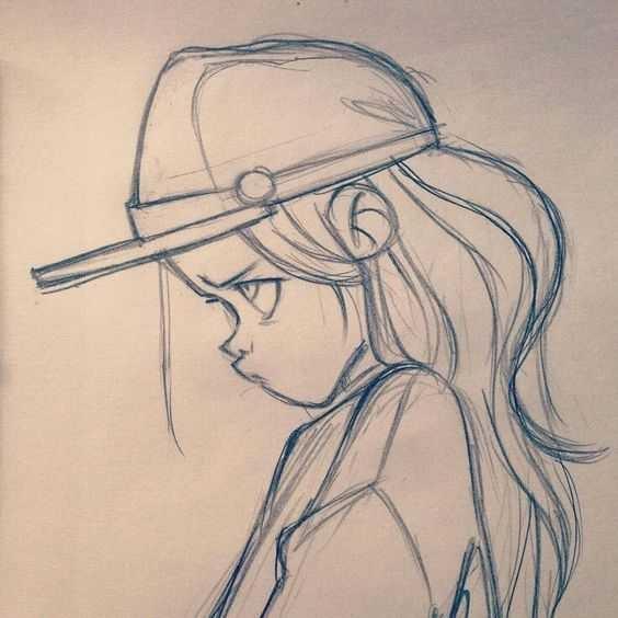 Рисунки карандашом для начинающих для девочек 11 лет022