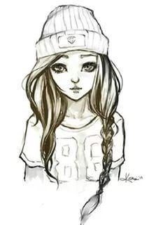 Рисунки карандашом для начинающих для девочек 11 лет025