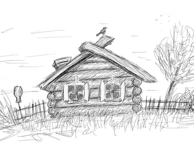 Рисунки на свободную тему 6 класс карандашом - идеи (16)