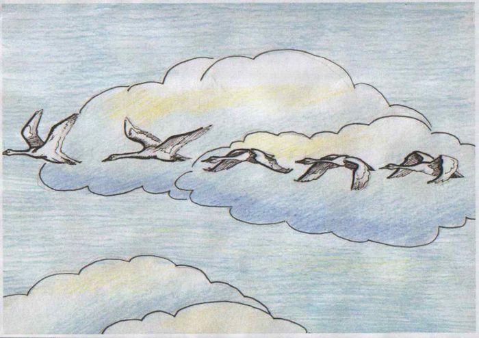Рисунки на свободную тему 6 класс карандашом - идеи (21)