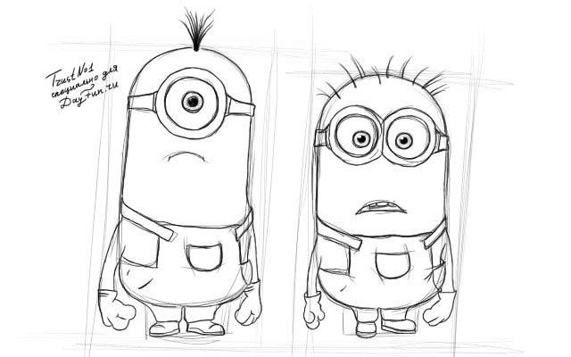 Рисунки на свободную тему 6 класс карандашом - идеи (24)