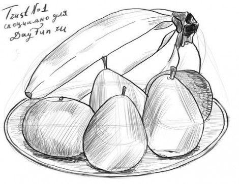 Рисунки на свободную тему 6 класс карандашом - идеи (5)