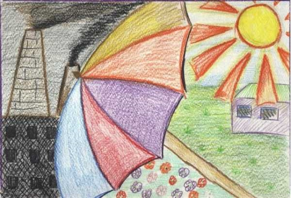 Рисунки на тему берегите воздух для 3 класса012