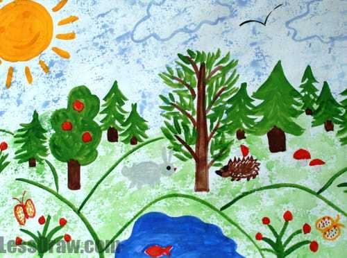 Рисунки на тему берегите воздух для 3 класса016
