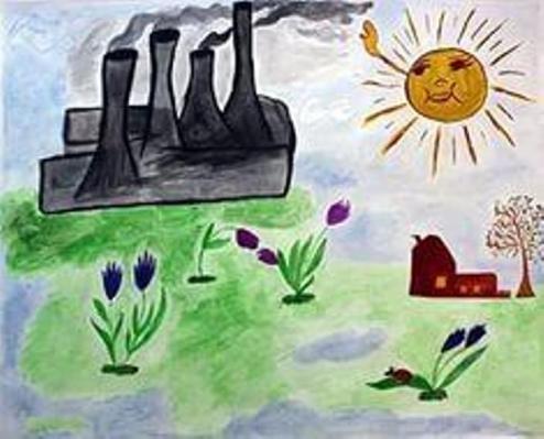 Рисунки на тему берегите воздух для 3 класса019
