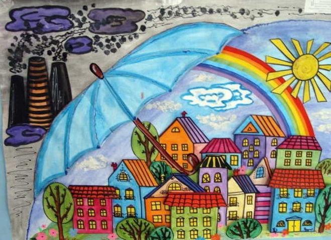 Рисунки на тему берегите воздух для 3 класса020