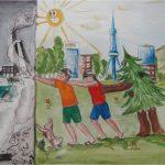 Рисунки на тему берегите воздух для 3 класса
