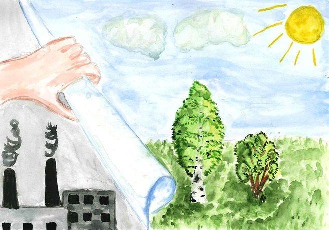 Рисунки на тему берегите воздух для 3 класса023