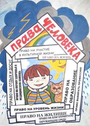 Рисунки на тему права человека в современном мире001