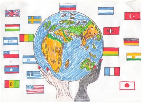 Рисунки на тему права человека в современном мире007
