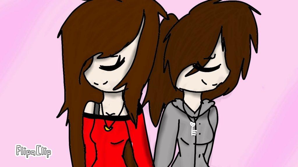 Рисунки подруге просто так, если она любит аниме009