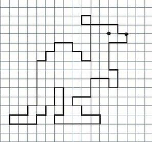 Рисунки по клеточкам в тетради для начинающих для девочек (12)
