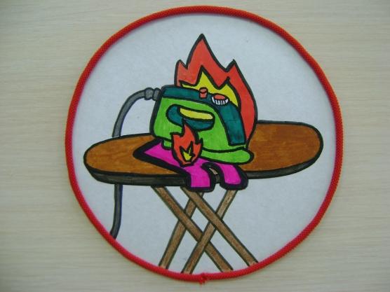 Рисунки по пожарной безопасности для детей своими руками (21)