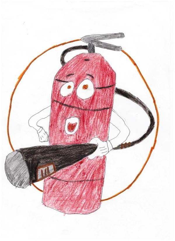 Рисунки по пожарной безопасности для детей своими руками (4)
