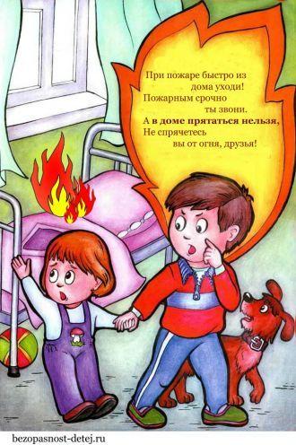 Рисунки по пожарной безопасности для детей своими руками (5)