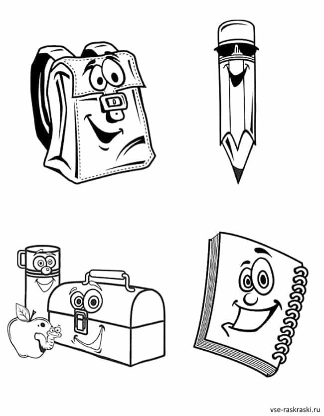 Рисунки про школу и на школьную тематику карандашом002