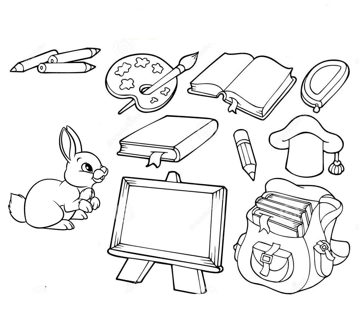 Рисунки про школу и на школьную тематику карандашом021