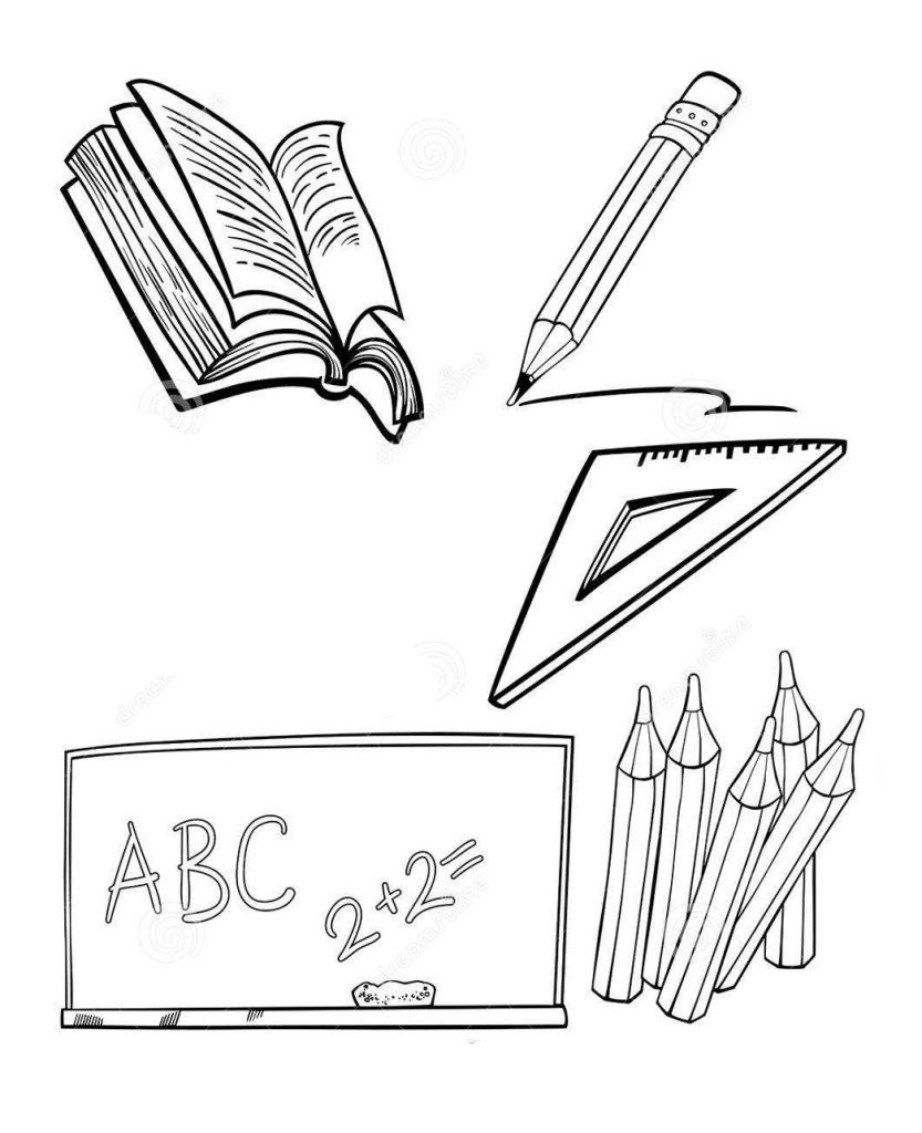 Рисунки про школу и на школьную тематику карандашом023